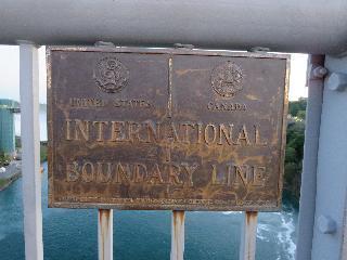 new york, niagara falls, border
