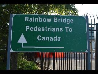 new york, niagara falls, rainbow bridge
