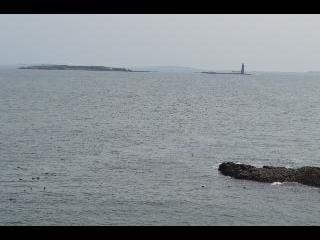 maine, portland, ram island lighthouse