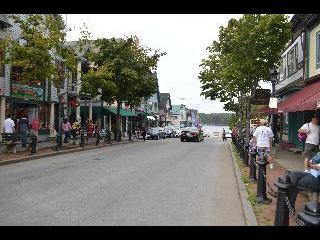 maine, bar harbor, main street