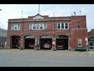 maine, bar harbor, fire department