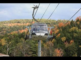 vermont, whiteface mountain, cable car, fall foliage