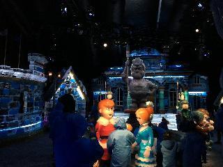 washington dc, dc, ice sculpture exhibition
