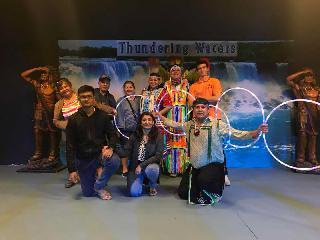 Thundering Water Indian show