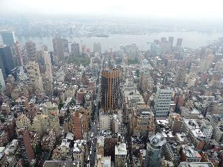 new york, new york city, view from empire state building