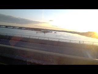 maine, bar harbor, sunset