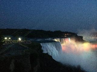 Niagara Falls, new york, night