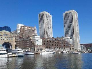 Boston, Skyscrapers, Harbor Cruise