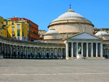 Panoramic City Tour and Naples Historical Center...