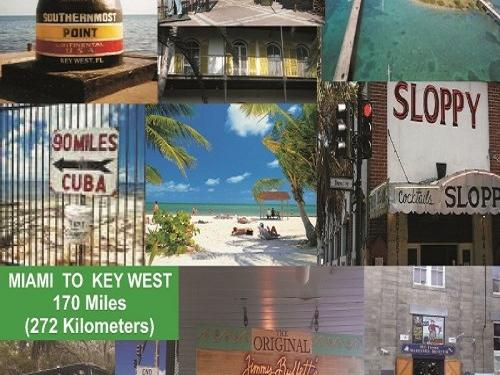 1 Day Tour Key West  from Miami - Hotel Pick Up