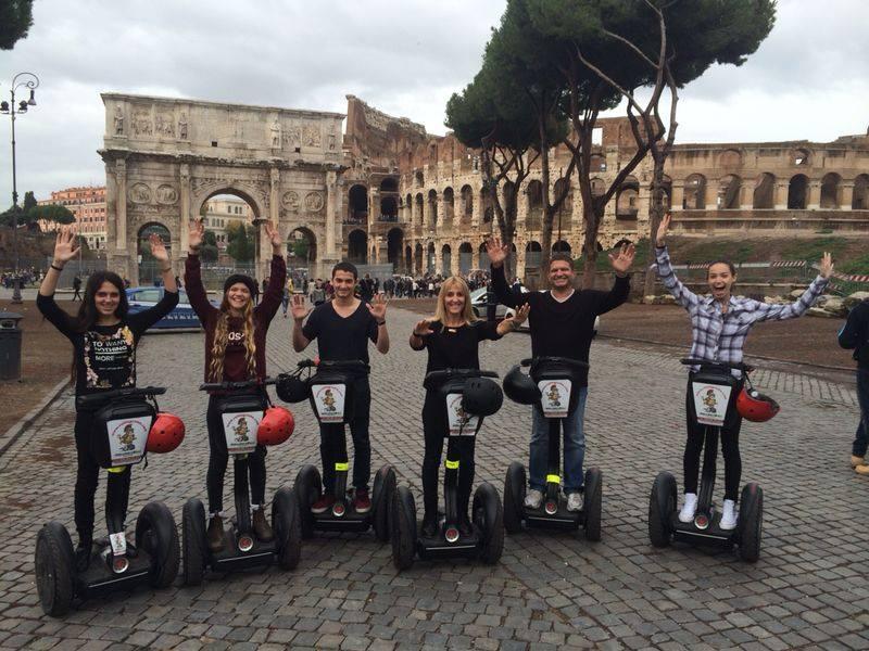 3-hour Rome City Segway Tour