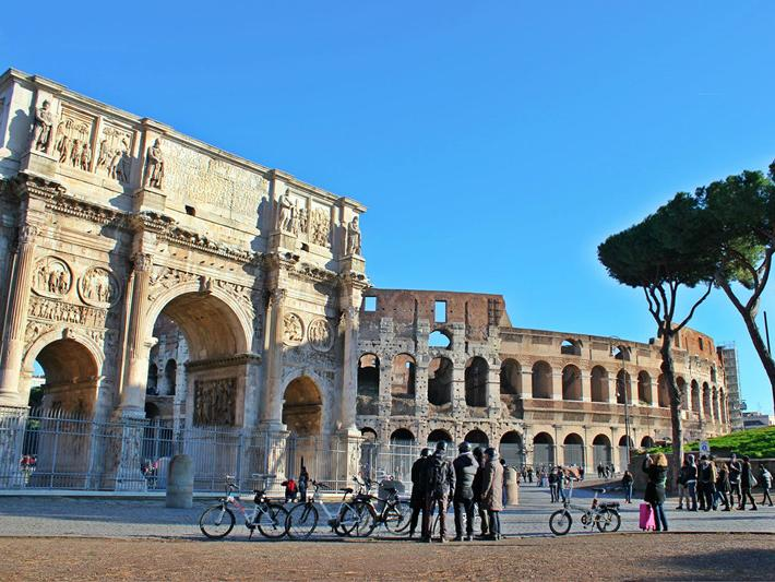 3-hour Ancient Rome E-Bike Tour