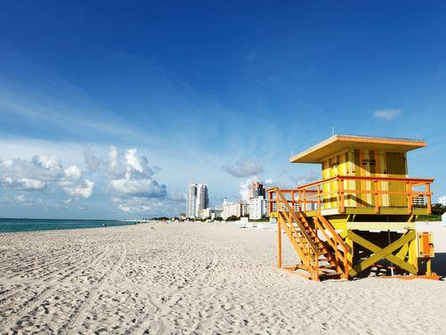 10-Day Miami, Kennedy Space Center, Orlando Theme Parks Tour - White Beach Series
