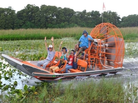 Continuous Half Hour Airboat Tour