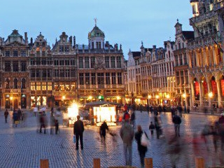1-Day Brussels City Sightseeing Tour from Amsterdam, Paris out