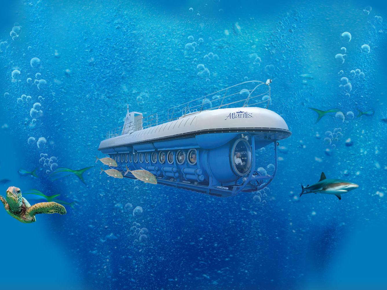 1.5-Hour Atlantis Submarine Tour from Honolulu