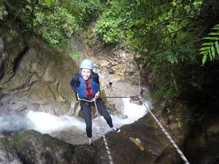 Canyoning in Baños - Casahurco Level IV