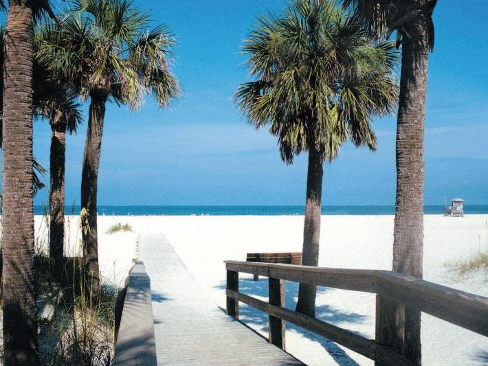 Clearwater Beach and Lunch