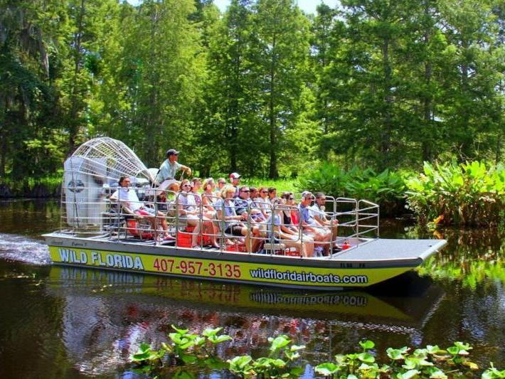 Wild Florida Airboat Park - Transportation Only
