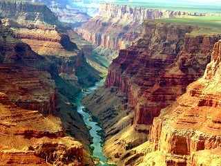 5-Day Grand Canyon West with Overnight Stay,  Las Vegas and Theme Parks Tour Package from Los Angeles