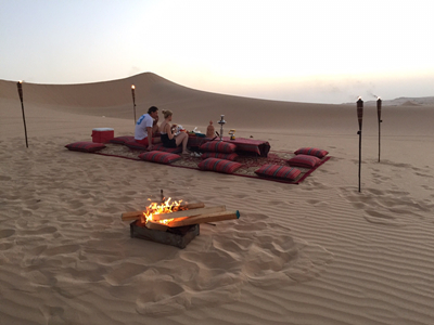 Private Sunset Dune Dinner Tour from Abu Dhabi