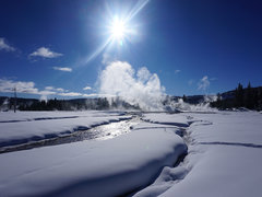 10-Day Yellowstone, Grand Teton, Jackson and Antelope Canyon Winter Tour from Los Angeles with Airport Pickup