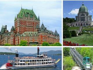 3-Day Montreal, Quebec City, Lake George Tour from Boston