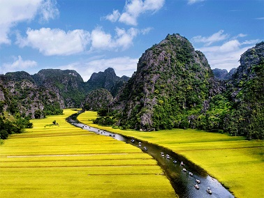 Hoa Lu - Tam Coc Full Day from Hanoi