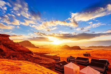 4-day Petra, Wadi Rum, Dead Sea tour from Tel Aviv/Jerusalem/Eilat/Amman