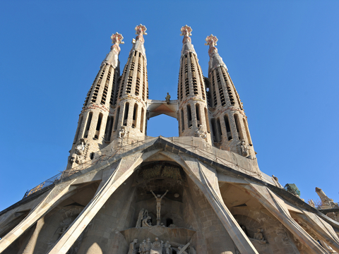 Skip the Line: Guided Tour of Sagrada Familia with Towers