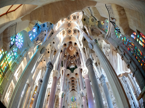 Sagrada Familia with Towers and Park Guell Guided Tour from Barcelona