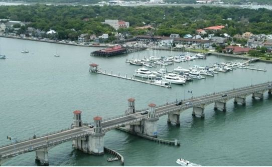 Fort Matanzas and Downtown Helicopter Tour