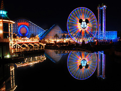 1-Day California Adventure Theme Park Tour from Los Angeles (No Guide in Park)