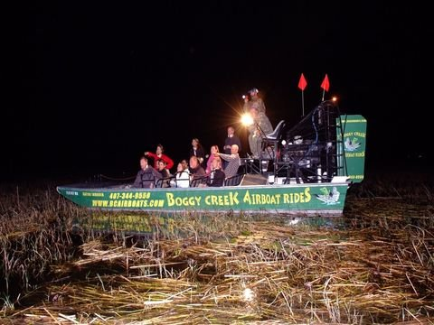 One Hour Night Airboat Tour