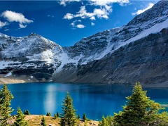 6-Days Rocky Mountains, Icefield, Banff, Calgary Tours from Vancouver