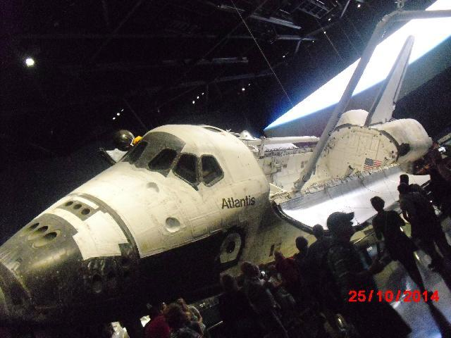The Atlantis Shuttle