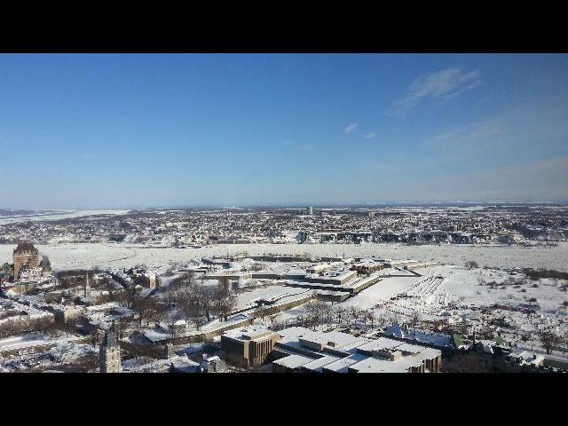 View from Observatoire de Quebec
