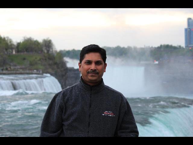 Amidst the Niagara