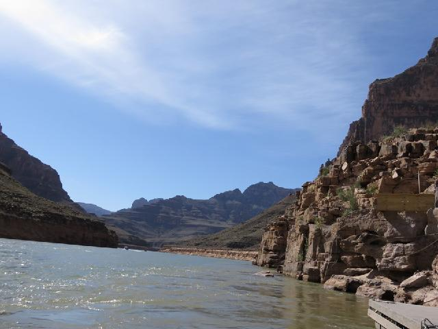 Boat Trip on Colorado River