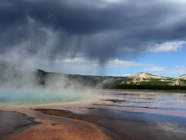 "Yellowstone - ""Grand Prismatic Springs"""