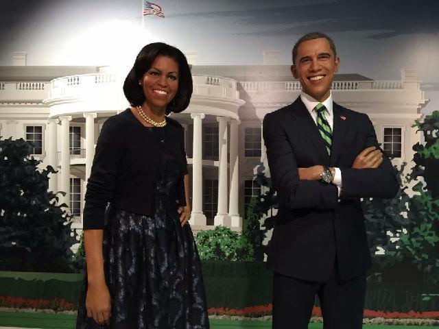 President Obama Madame Tussauds