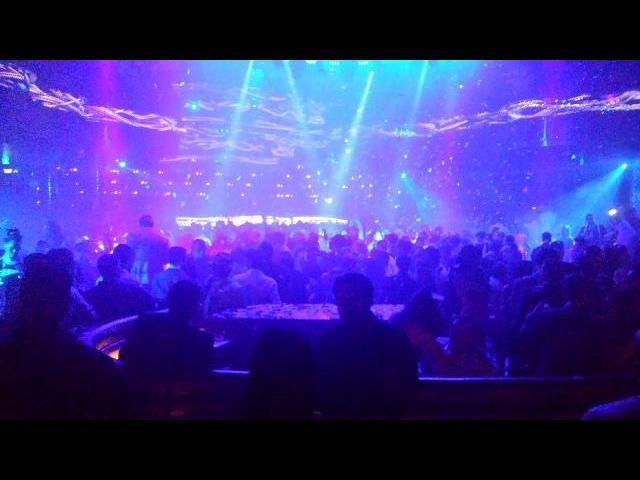 Omina Night club in Vegas
