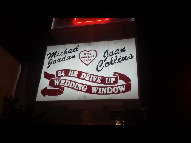 Drive Through Wedding in Vegas!