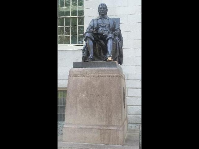 Havard Statue