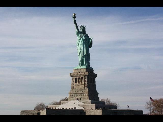 Statue of Liberty on cruise