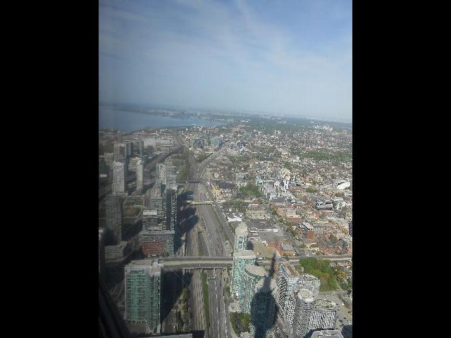 Spectacular view from the top of Skylon Tower!!!