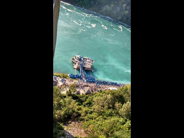 Maid of the Mist Starting point