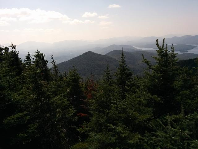 View from Little Whiteface Mountain.