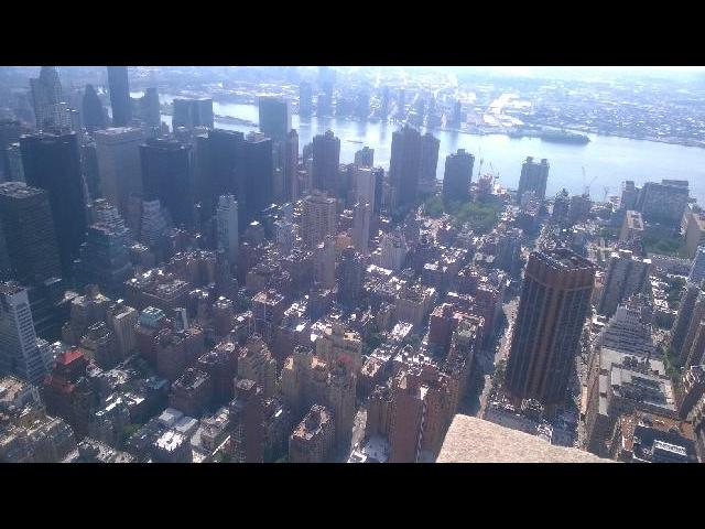 New York City- view from Empire State Building