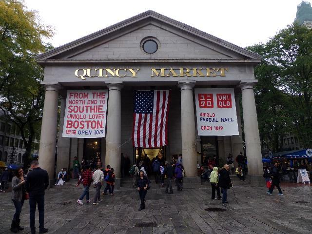 Quincy Market on a gloomy Fall day...
